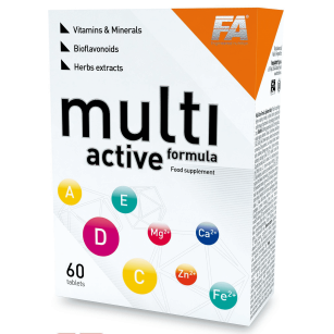 Fitness Authority Multi Active Formula | 60 kaps.