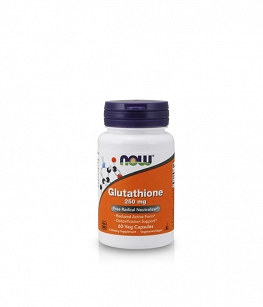 Now Foods Glutathione 250mg | 60 vcaps