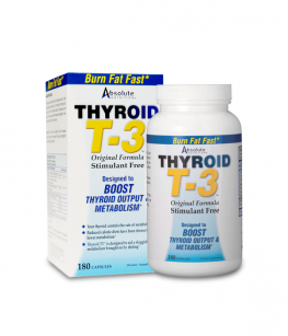 Absolute Nutrition Thyroid T3 | 180 kaps.