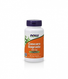 NOW Cascara Sagrada 450mg | 100 kaps