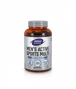 Now Foods Men's Active Sports Multi | 180 softgels