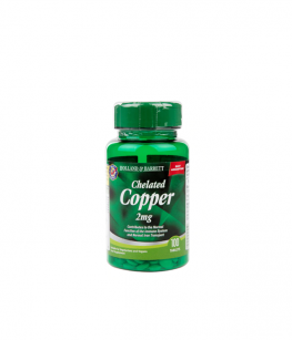 Holland & Barrett Chelated Copper 2mg  | 100 tabl.
