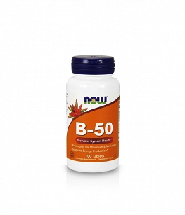 Now Foods Vitamin B-50 | 100 tabl.