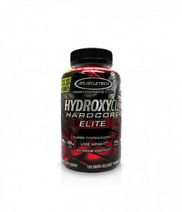 MuscleTech Hydroxycut Hardcore Elite | 180 kaps.