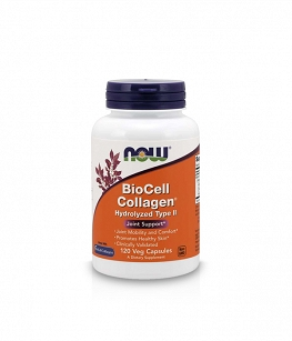 Now BioCell Collagen Hydrolyzed Type II | 120 vcaps