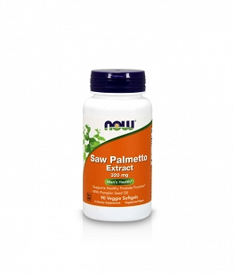 Now Foods Saw Palmetto Extract 320mg with Pumpkin Seed Oil | 90 veggie softgels