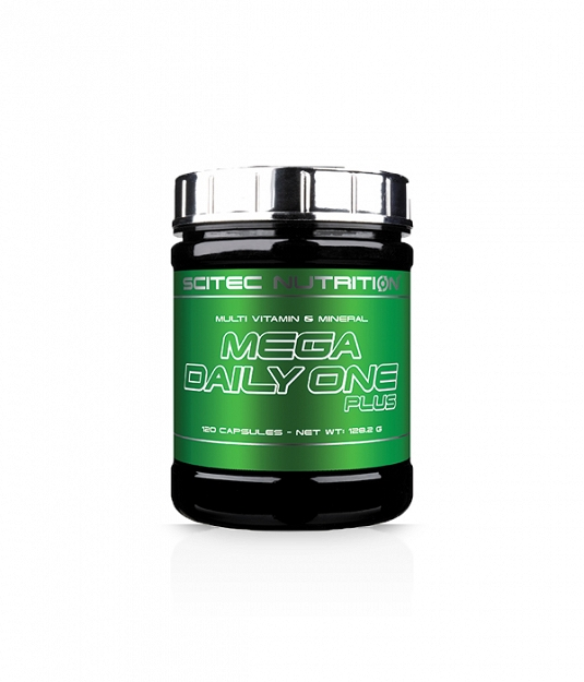 Scitec Mega Daily One Plus | 120 kaps.