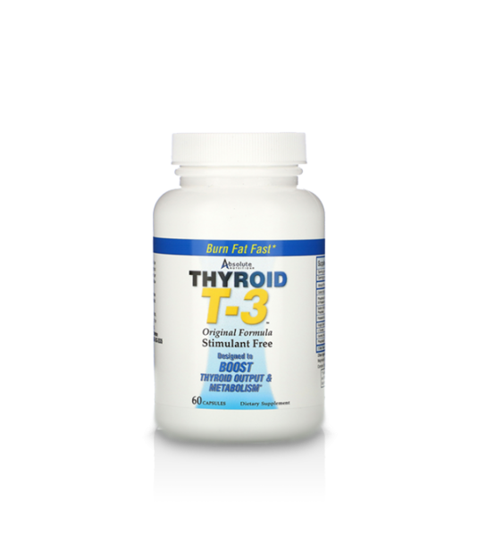 Absolute Nutrition Thyroid T3 | 60 kaps.