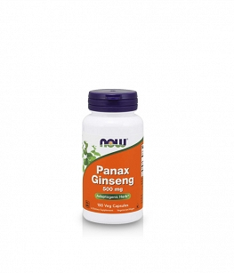 Now Foods Panax Ginseng | 100 kaps.