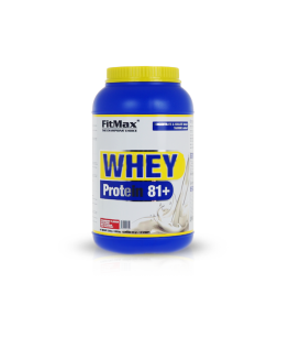 Fitmax Whey protein 81+ | 2250g