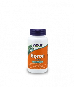 Now Foods Boron 3mg | 100 vcaps