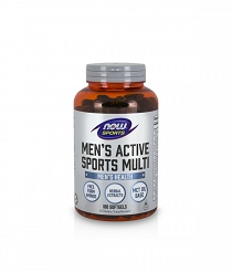 Now Men's Active Sports Multi | 180 softgels